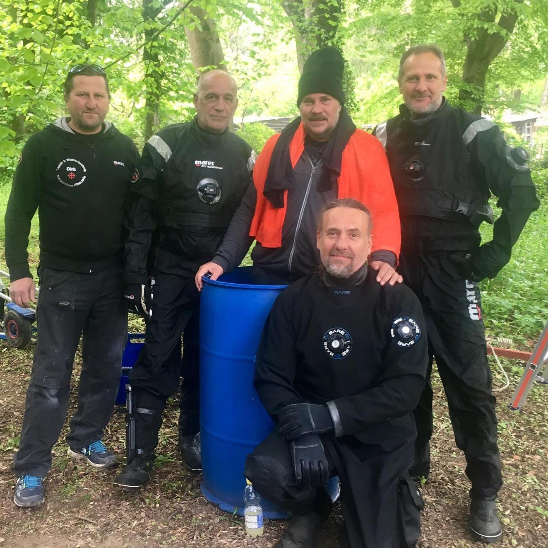 taucher safety diver sicherung Stuntdouble double Make No Ape Stunt Markus Pütterich Kampf fightchoreography schlägerei